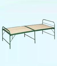 折叠竹板床